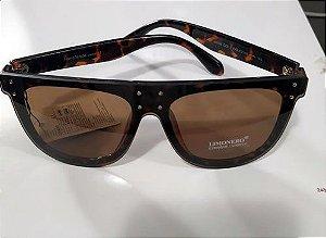 Oculos de Sol Oversized Tartaruga