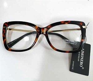 Armação oculos de Grau Tartaruga  0028