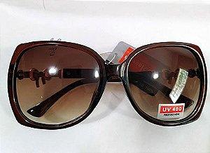 Oculos de Sol Tie Bordô 0047
