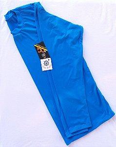 Camisa Feminina Manga Longa com proteção UV 50+ Azul