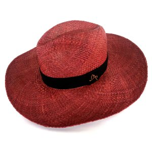 Chapéu de Palha Natural Aba Grande Telha