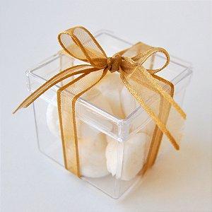 Sabonete Suspiro - caixa de acrílico - 10 unidades
