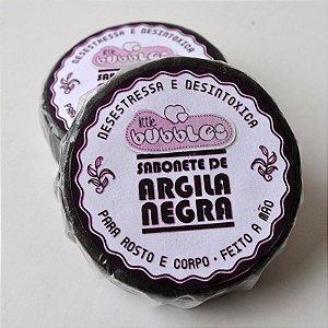 Sabonete de Argila - Negra ou Vermelha