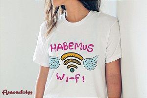 Camiseta Habemus Wi-Fi
