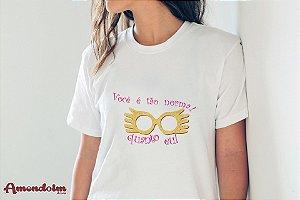 Camiseta Você é...