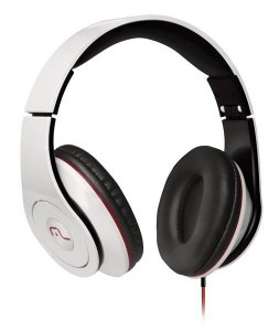 Fone De Ouvido Headphone Monster Branco Multilaser Ph075