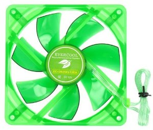 Cooler FAN Evercool FAN EGF-12 120mm Verde