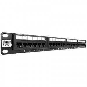 PATCH PANEL 24 PORT. CAT. 5E FURUKAWA SOHO PLUS