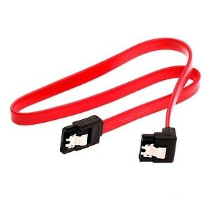 Cabo Sata 180° / 90° 0.5m Vermelho PC-CBST03 Plus Cable