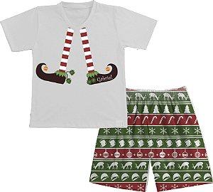 Pijama Natal Personalizado Duende