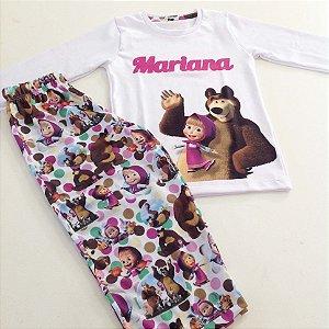 Pijama Longo Personalizado Feminino