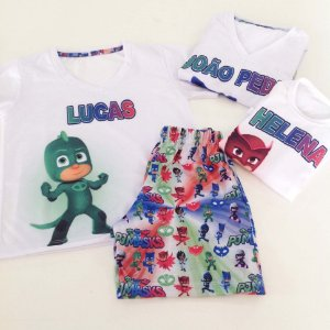 Pijama Personalizado PJ Masks