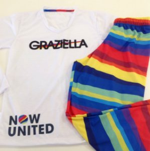 Pijama Personalizado Now United