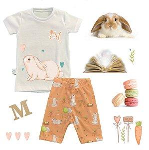 Pijama Personalizado de Páscoa Coleção Encanto