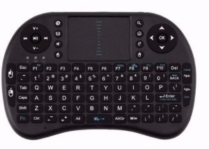 Mini Teclado Wireless Touch Pad Para Tv Smart