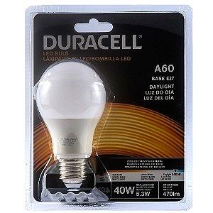 Lâmpada Led Duracell Bulbo A60 5,3W Branca Bivolt