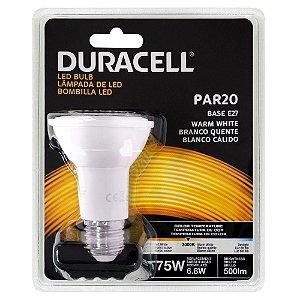 Lâmpada Led Duracell PAR20 6,8W Amarela Bivolt