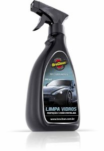 LIMPA VIDROS AUTOMOTIVO BRACLEAN 500ML