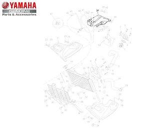 TANQUE DE RECUPERACAO DO RADIADOR PARA XT660Z TENERE ORIGINAL YAMAHA