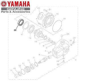RETENTOR DE OLEO DO DIFERENCIAL PARA XV535 VIRAGO E XVS650 DRAGSTAR ORIGINAL YAMAHA