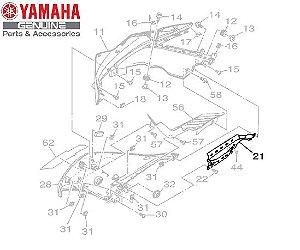 TAMPA 8 LADO DIREITO PARA YZF-R3 2020 E 2021 ORGINAL YAMAHA