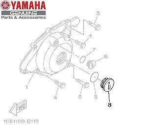 TAMPAO DO DRENO DA TAMPA ESDQUERDA PARA TTR-230 ORIGINAL YAMAHA