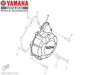 TAMPA ESQUERDA DO MOTOR PARA XJ6-N E XJ6-F ORIGINAL YAMAHA