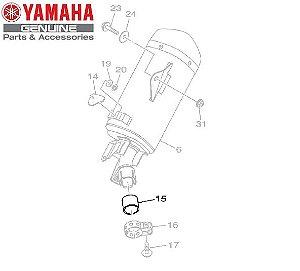 GUARNICAO OU GAXETA DO SILENCIADOR PARA MT-03 E YZF-R3 ORIGINAL YAMAHA