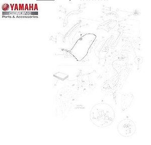 Capa do Selim Yamaha Ténéré XT 660 Z 2012/14 Original