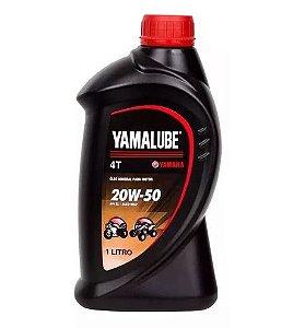 ÓLEO YAMALUBE 20W50 4T MINERAL 1 LITRO ORIGINAL YAMAHA