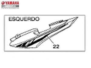 ADESIVO DA RABETA PARA FAZER 150 2016 A 2022  ORIGINAL YAMAHA