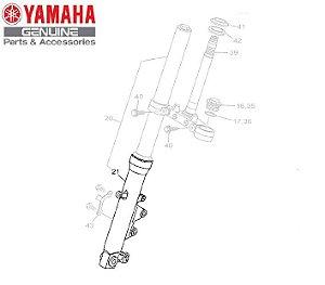 TUBO EXTERNO DIREITO PARA FZ25 NOVA FAZER 250 ABS ORIGINAL YAMAHA