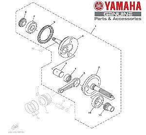 VIRABREQUIM COMPLETO PARA AT115 NEO ORIGINAL YAMAHA