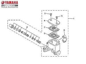 Cilindro Mestre Subconjunto Yamaha MT-03 Original