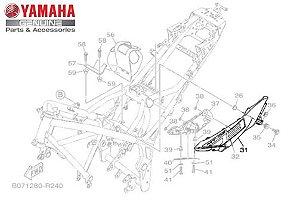 TOMADA DE AR ESQUERDA MT-03 ORIGINAL YAMAHA