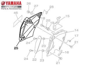 TOMADA DE AR DIREITA PARA MT-09 ORIGINAL YAMAHA