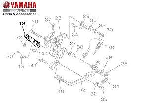 ESTRIBO DIANTEIRO DIREITO PARA MT-09 E MT-09 TRACER ORIGINAL YAMAHA