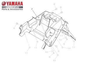 PARALAMA TRASEIRO PARA NMAX 160 ORIGINAL YAMAHA