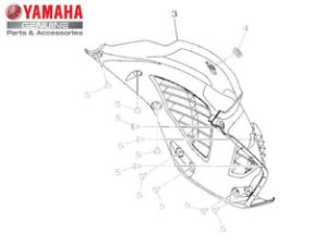 PARALAMA INTERNO NMAX 160 ORIGINAL YAMAHA