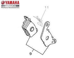 KIT PASTILHA DE FREIO DIANTEIRA N-MAX 160 ORIGINAL YAMAHA