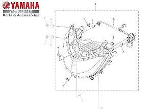 FAROL DIANTEIRO CONJUNTO NMAX 160 ATÉ 2020 ORIGINAL YAMAHA