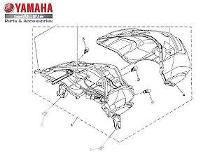 LANTERNA TRASEIRA CONJUNTO N-MAX 160 ORIGINAL YAMAHA