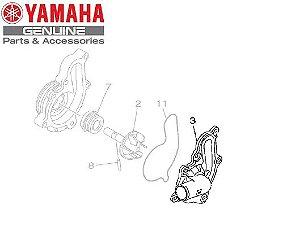 TAMPA DA CAIXA DA BOMBA DE ÁGUA PARA MT-09 E MT-09 TRACER ORIGINAL YAMAHA