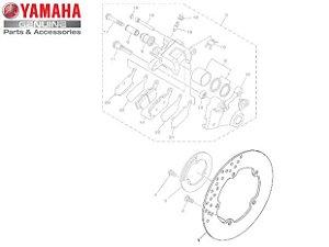 DISCO DE FREIO TRASEIRO PARA MT-09 ORIGINAL YAMAHA