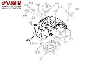 TAMPA SUPERIOR DO TANQUE XTZ 150 CROSSER ORIGINAL YAMAHA