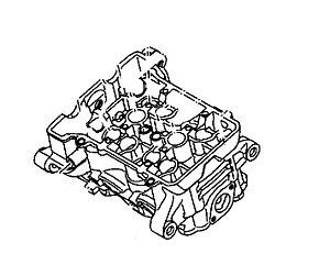 Cabeçote do Cilindro Completo  Original Yamaha