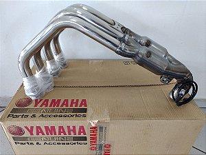 Coletor De Escapamento (curva) Yamaha Fazer 600 Fz6 - S 2007