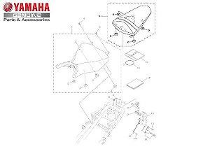 SELIM (BANCO) TRASEIRO COMPLETO PARA MT03 E YZF R3 ORIGINAL YAMAHA