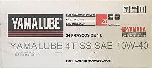 CAIXA DE ÓLEO SEMISSINTÉTICO 4T YAMALUBE 10W40 SL (24L) - VENDA ATACADO