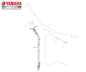 CABO DO ACELERADOR COMPLETO TTR-230 ORIGINAL YAMAHA